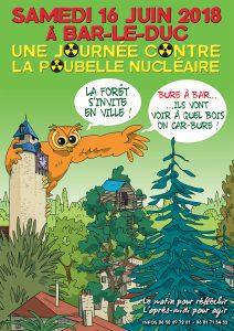 À contre-courant - Journée contre la poubelle nucléaire -  samedi 16 juin - 17h - Bar-le-Duc (55) @ Bar-le-Duc | Bar-le-Duc | Grand Est | France