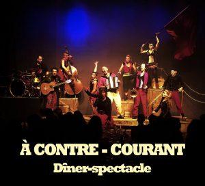 À contre-courant – Dîner-spectacle – vendredi 8 juin – 19h @ La Belle Étoile | Saint-Denis | Île-de-France | France