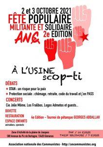À contre-courant - dimanche 3 octobre - 16h - Gémenos (13) @ Usine Scop-Ti
