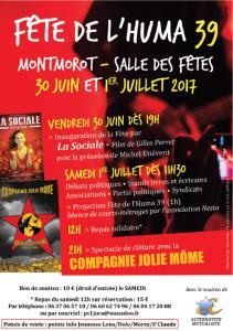 À contre-courant - Fête de l'Huma Jura - Samedi 1er juillet - 21h @ Salle des fêtes | Montmorot | Bourgogne Franche-Comté | France