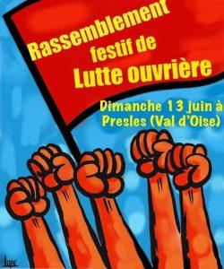 À contre-courant - Fête de Lutte Ouvrière - Presles (95) - Dimanche 13 juin - 11h @ Château de Bellevue