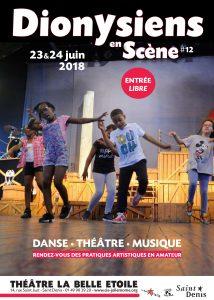 Dionysiens en Scène - 23 et 24 juin @ La Belle Étoile | Saint-Denis | Île-de-France | France