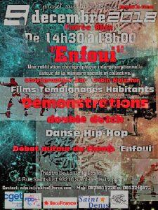 Enfoui - Danse, projection, rencontres autour de la mémoire de La Plaine - dimanche 9 décembre - 14h30 @ La Belle Étoile