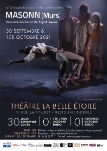 Masonn (Murs) - Cie Boukousou - jeudi 30 sept. et vendredi 1er oct. - 20h30 @ La Belle Étoile