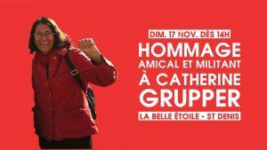 Avec Catherine Grupper - dimanche 17 novembre - 14h-18h @ La Belle Étoile