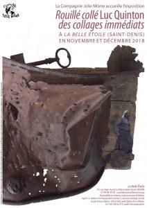 [Exposition] Luc Quinton - Rouillés collés - des collages immédiats - du 8 novembre au 15 décembre @ La Belle Étoile | Saint-Denis | Île-de-France | France