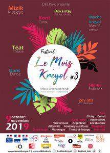 Festival Le Mois Kréyol - Soirée Danses de la Réunion - samedi 26 octobre - 20h @ La Belle Étoile