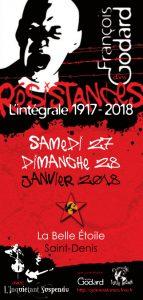 Résistances L'Intégrale - 27 et 28 janvier @ La Belle Etoile | Saint-Denis | Île-de-France | France