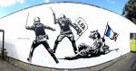 L'Etat matraquant la Liberté - Goin - Grenoble - 2016