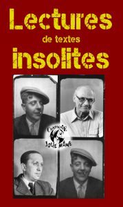 Lectures de textes insolites ! - mardi 30 juin - mardi 7 juillet - samedi 11 juillet @ La Belle Étoile