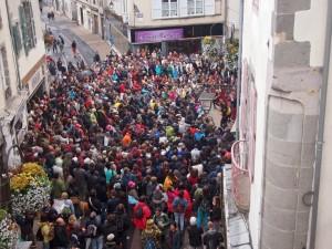 Les spectateurs de Jolie Môme à Aurillac