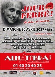 Jour Ferré - Alhambra - dimanche 30 avril - 18h @ Alhambra | Paris-10E-Arrondissement | Île-de-France | France