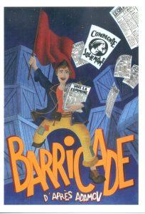 Barricade - du 18 au 29 mars @ La Belle Étoile